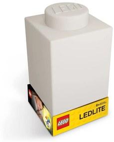 Classic Brick fehér szilikon világító éjjeli lámpa - LEGO®
