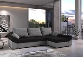 VIVIANA ágyázható sarok ülőgarnitúra 245x85x140, mikrofázis 15/27, jobb