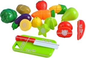 ISO Szelet gyümölcs és zöldség 13 db, 6080