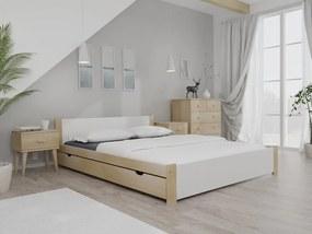 Maxi Drew IKAROS ágy 120x200 cm, fenyőfa Ágyrács: Ágyrács nélkül, Matrac: Coco Maxi 23 cm matraccal