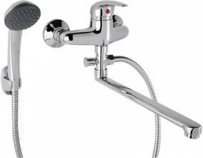 Fali Kád-mosdó töltő (KMT) csaptelep ST0315-1 zuhanyszettel