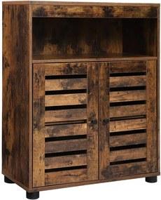 Tárolószekrény, Rusztikus stílusú, 60 x 30 x 80 cm