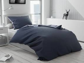 Bora kék pamut ágyneműhuzat