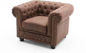 Design fotel Chesterfield II antik barna
