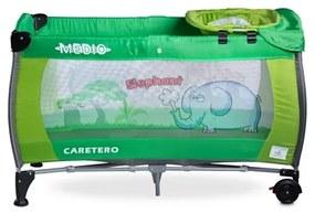 CARETERO   Caretero Medio   Utazóágy CARETERO Medio green   Zöld  