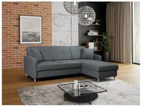 FOSIE sarok kanapéágy, 220x88x162, hugo 94, jobb sarok