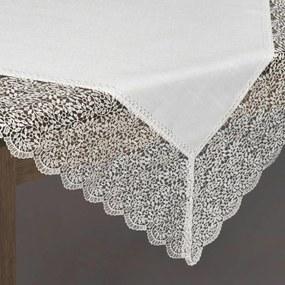 Bella csipkés asztalterítő Ezüst 85 x 85 cm - HS324738