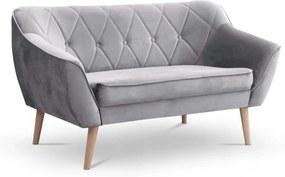 SD DEANA II kárpitozott kanapé - szürke