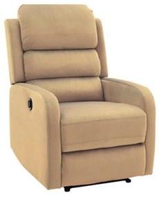 PEGAS Velvet fotel, 64x102x88-160, bluvel 28