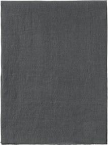 Sötétszürke len asztali futó, 140 x 45 cm - Blomus