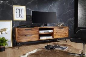 RIMBER tömör rózsafa TV-szekrény