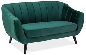 ESTER Velvet 2 kárpitozott kanapé, 153x83x85, bluvel 78