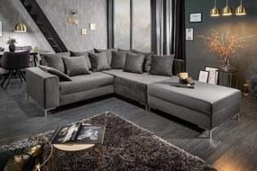 LOFT szürke kanapé 220cm
