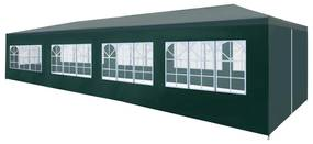 vidaXL zöld partisátor 3 x 12 m
