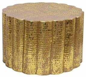 Stílusos dohányzóasztal Gwendolyn 60 cm arany