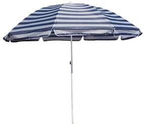 Happy Green strand napernyő kék csíkos, 230 cm