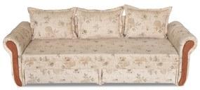 Verona ágyazható, karfás  kanapé, 150 x 190 cm. a   ka093 (bézs)