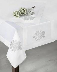 Sofia exkluzív asztalterítő Fehér 150 x 220 cm - HS32373