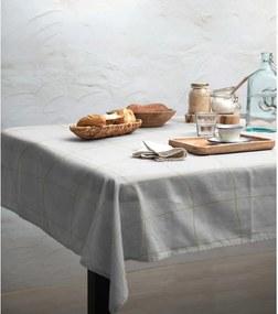 Beige Lines asztalterítő, 140 x 140 cm - Linen Couture