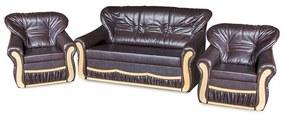 President alíz 3+1+1 ülőgarnitúra ágyazható,   gr060 (barna)