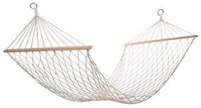 Happy Green felakasztható hálós nyugágy, 200 x 80 cm, fehér