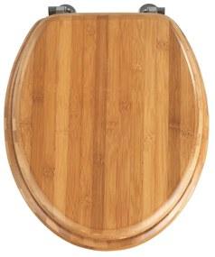 Bamboo bambusz WC-ülőke, 42,5 x 37 cm - Wenko