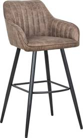 Stílusos bár szék Esmeralda vintage taupe