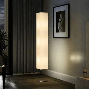 vidaXL Lámpa 3 lábú négyzet alakú krém 170 cm