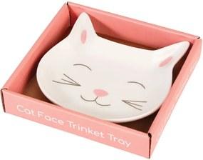 Cat Face porcelán kistányér - Rex London