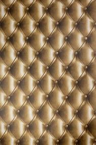 3D hatású húzott barna bőr mintás tapéta