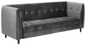 Ízléses ágyazható kanapé Alwyn 235 cm - sötétszürke
