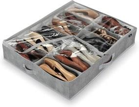 Shoes szürke 12 rekeszes cipő rendszerező - Domopak
