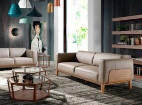 PEDRAZA design 3-személyes kanapé - taupe