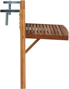 LODGE erkély-asztal, natúr