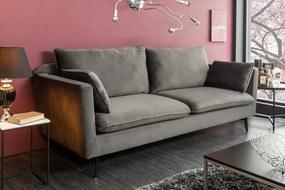 Szürke kanapé Famous II 210cm