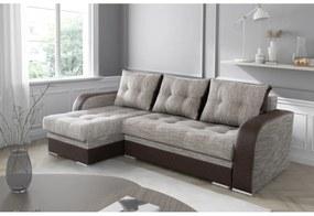 BONDI TWO ágyazható sarok ülőgarnitúra, 236x90x140, berlin 03/eko pik romb 1116/60
