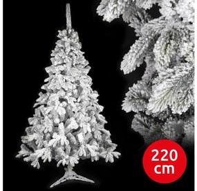 ANMA Karácsonyfa RON 220 cm lucfenyő AM0083
