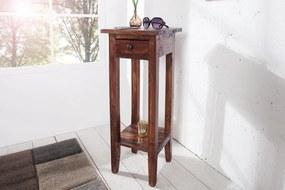 HEMINGWAY antik barna telefonasztal