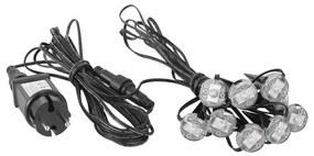 Eglo Eglo 98184 - LED Karácsonyi kültéri lánc SPINETOLI 9xLED/3W/230/12V IP65 EG98184