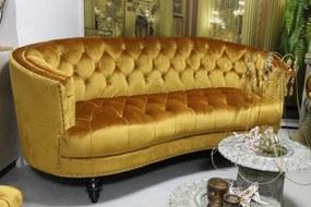 Arany színű Chesterfield kanapé