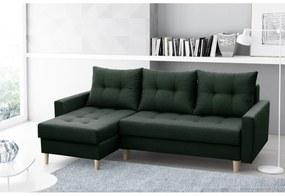 NAZIO THREE ágyazható sarok ülőgarnitúra, 220x90x140, malmo 37
