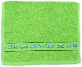 KIDS zöld gyerek törölköző 30x50 cm