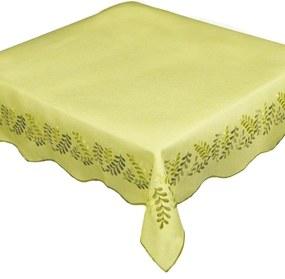 Levelek abrosz, sárga, 85 x 85 cm, 85 x 85 cm