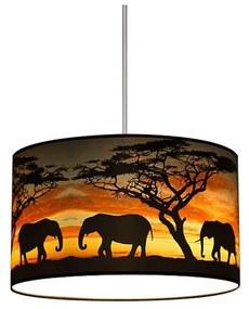 Lampdar Csillár AFRICA1xE27/60W/230V SA0243