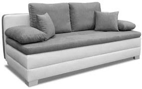 Nuka ágyazható, karfa nélküli kanapé 140 x 199 cm. a