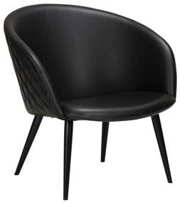 Dual fotel, fekete textilbőr, fekete fém láb