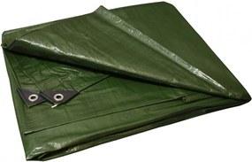 Takaró ponyva zöld - szürke 2x6 m 130 g/m2