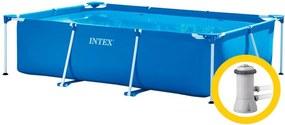 Intex Frame Family medence 3 x 2 x 0,75 m szűrőberendezéssel