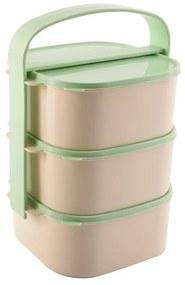 Orion Almi műanyag élelmiszer-hordozó, 3 x 1,15 l