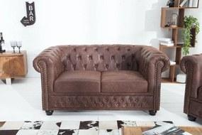 Kettes ülőgarnitúra Chesterfield Vintage II bőr